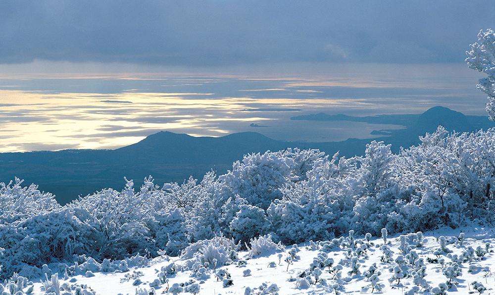한라산겨울2